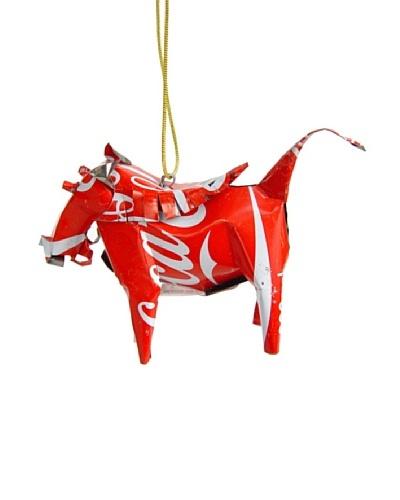Mbare Coca Cola Tin Warthog Ornament