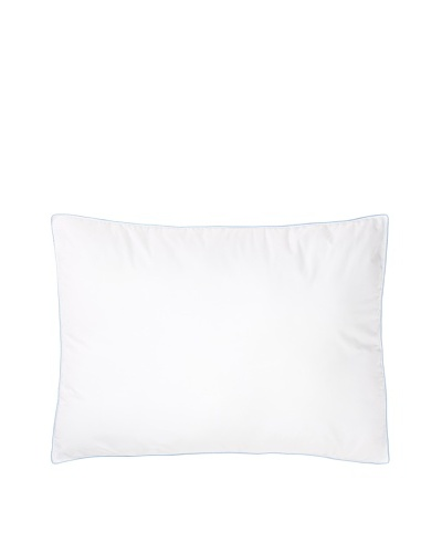 Mélange Home Density Extra Firm Pillow, Blue Piping