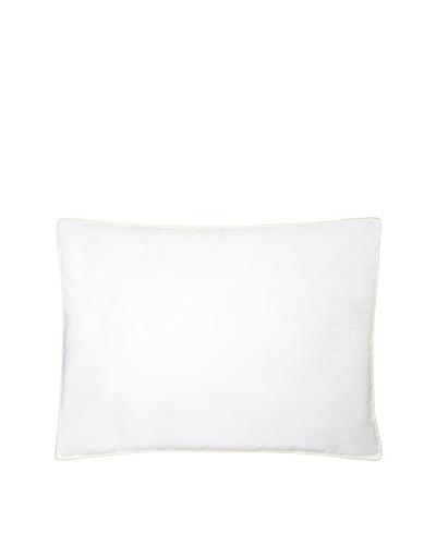 Mélange Home Density Medium Firm Pillow, Green Piping