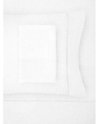 Mélange Home Linen Hemstitch Sheets