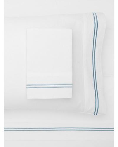 Mélange Home 2 Stripe Embroidered Sheet Set