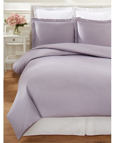 Mélange Home Hemstitch Duvet Cover Set [Amethyst]