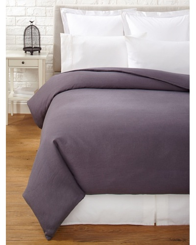 Mélange Home Linen Hemstitch Duvet Cover Set