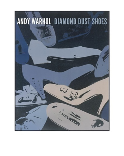 Andy Warhol Diamond Dust Shoes, 1980-1 (Blue-Grey)
