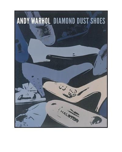 "Andy Warhol ""Diamond Dust Shoes, 1980-1 (Blue-Grey)"""