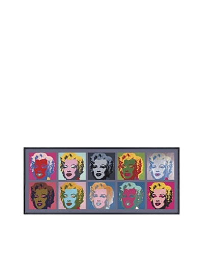 Andy Warhol Ten Marilyns 1967 Framed Print by Andy Warhol