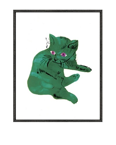 """Andy Warhol """"Cat From """"25 Cats Named Sam And One Blue Pussy"""