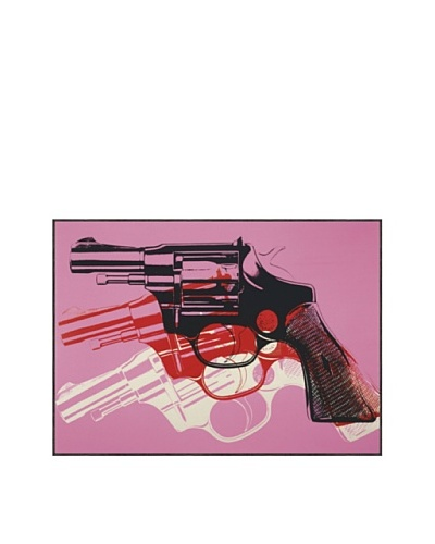Andy Warhol 3212FR Gun c.1981-82 Framed Print by Andy Warhol