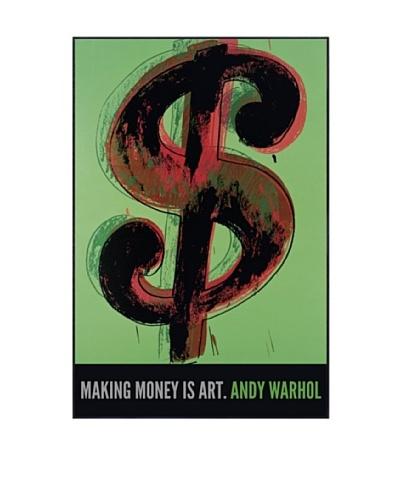 Andry Warhol Dollar Sign, 1981