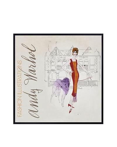 """Andy Warhol """"Female Fashion Figure, C. 1959"""""""