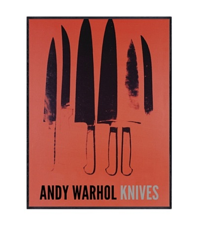 "Andy Warhol ""Knives, C. 1981-82"""