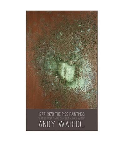 "Andy Warhol ""Oxidation, 1978"""