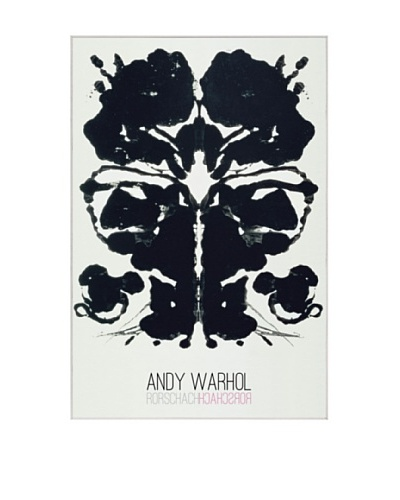 "Andy Warhol ""Rorschach"""