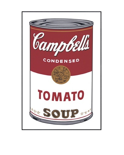 Andy Warhol 2650FR Campbell's Soup I Tomato 1968 Framed Print by Andy Warhol
