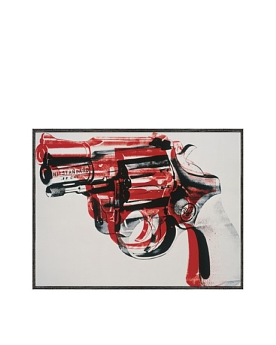 McGaw Graphics Gun c.1981-82 Framed Print by Andy Warhol