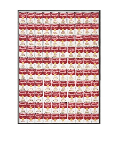 Andy Warhol One Hundred Cans 1962 Framed Print by Andy Warhol