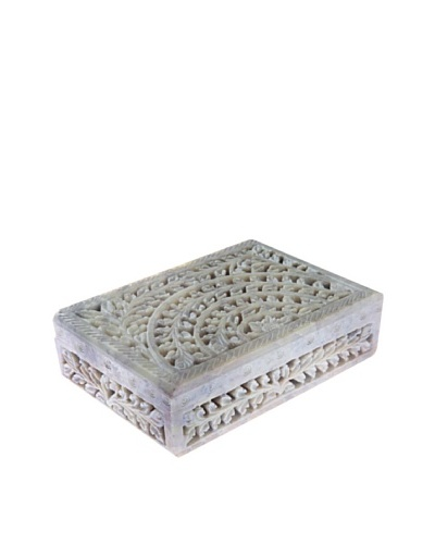 Mela Artisans Taj Gorara Stone Decorative Box