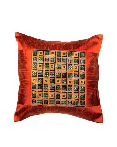 Mela Artisans Checkmate Cushion Cover