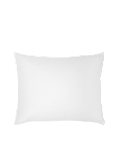 Mélange Home Goose Down Pillow, White, Standard