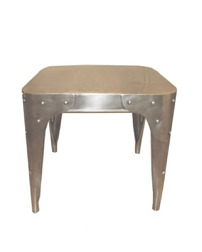 Melange Home Iron End Table