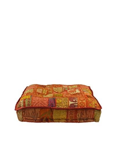 Melange Home Yoga Pillow, Medium, Masala Chai