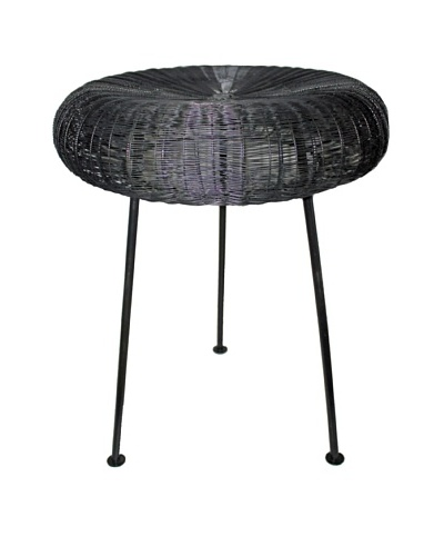 Melange Home Wire Tripod Stool
