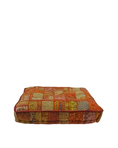 Melange Home Yoga Pillow, Large, Masala Chai
