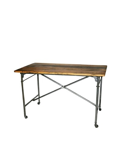 Melange Home Pipeline Dining Table