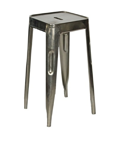 Melange Home Vintage Painted Stool, set of 2, Aluminium