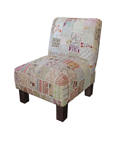 Melange Home Tribeca Chair, Cream Sari