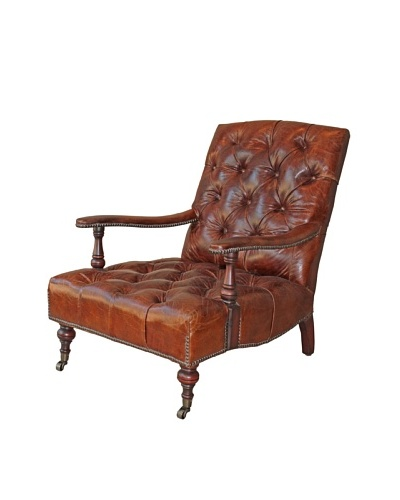 Melange Home Cambridge Chair, Vintage Brown