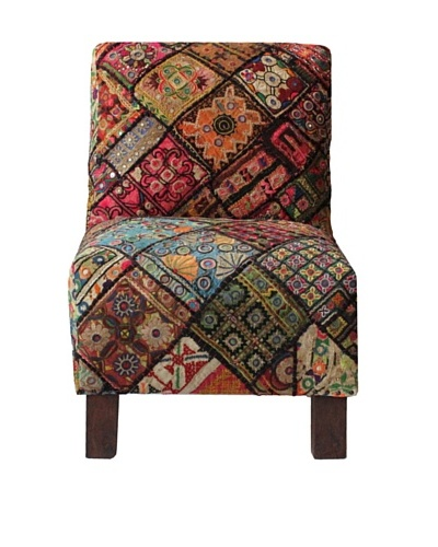 Melange Home Tribeca Chair, Old Jati
