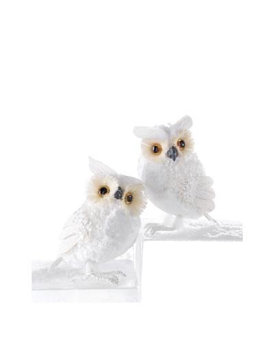 Melrose Set of 2 Owl Figurines