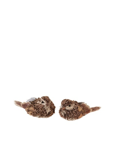 Melrose International Pair of Decorative Paper Birds