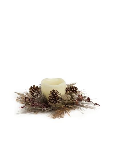 18 Long Pine Needle Candle Ring