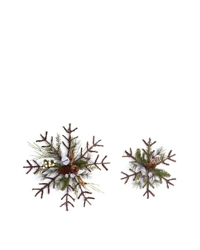 Set of 2 Jingle Bell Wall Décor