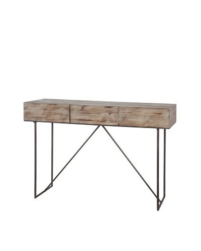 Mercana Moorgate Console Table, Brown/Grey