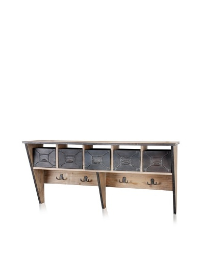 Mercana Smithe Shelf, Natural/Brown