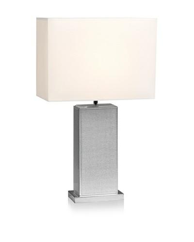 Mercana Talin Table Lamp, Silver/Natural
