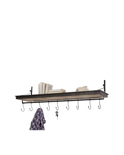 Mercana Gresham Coat Hooks, Brown/Natural
