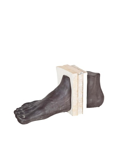 Mercana Theon Ceramic Foot Bookends