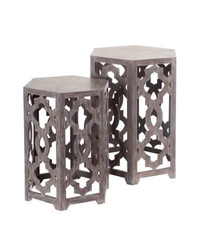 Mercana Hollis Set of 2 Side Tables