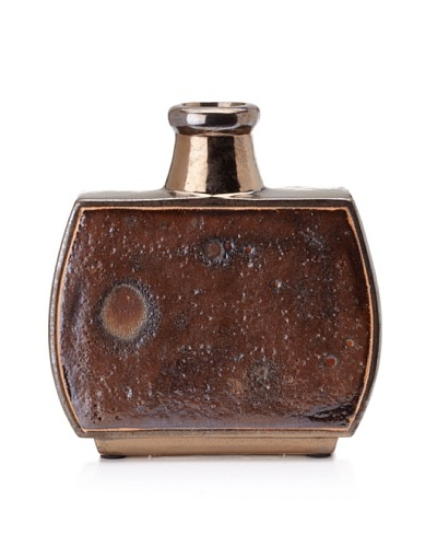 Mercana Burlen Vase [Brown]