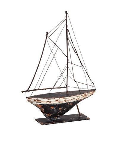 Mercana Whiten Shipwrecked Table Sculpture