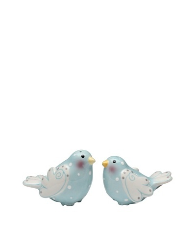 Merry Me by Babs Doves Ceramic Salt & Pepper Shaker Set