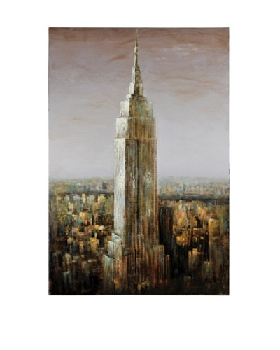 "Empire State 60"" x 40"" Gallery Wrap Canvas"