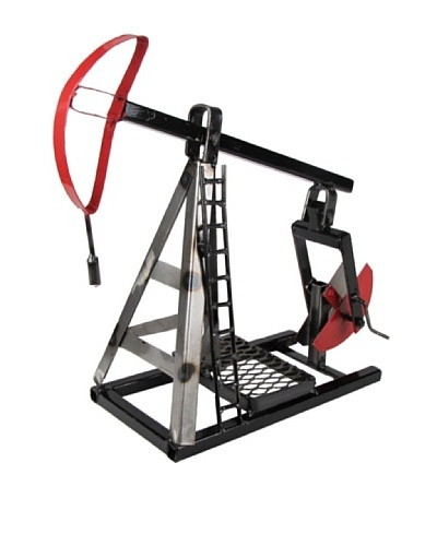 Metrotex Ornamental Pump Jack Décor, Multi