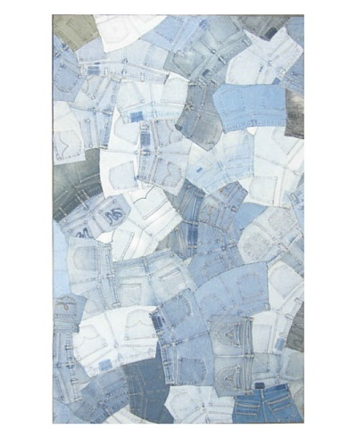 Meva Rugs Denim Rug