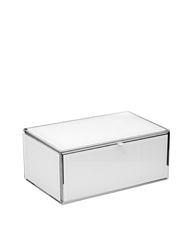 Mia Collection Glass Jewelry Box