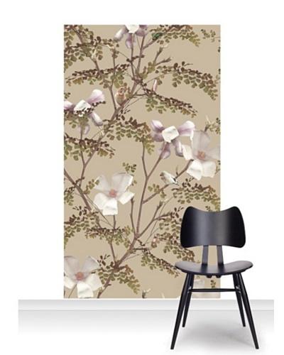 Michael Angove Magnolia - Caramel Standard Mural [Accent]